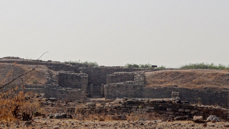 The entrance to Citadel @ Dholavira